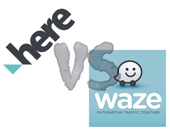 HERE WeGo vs Waze