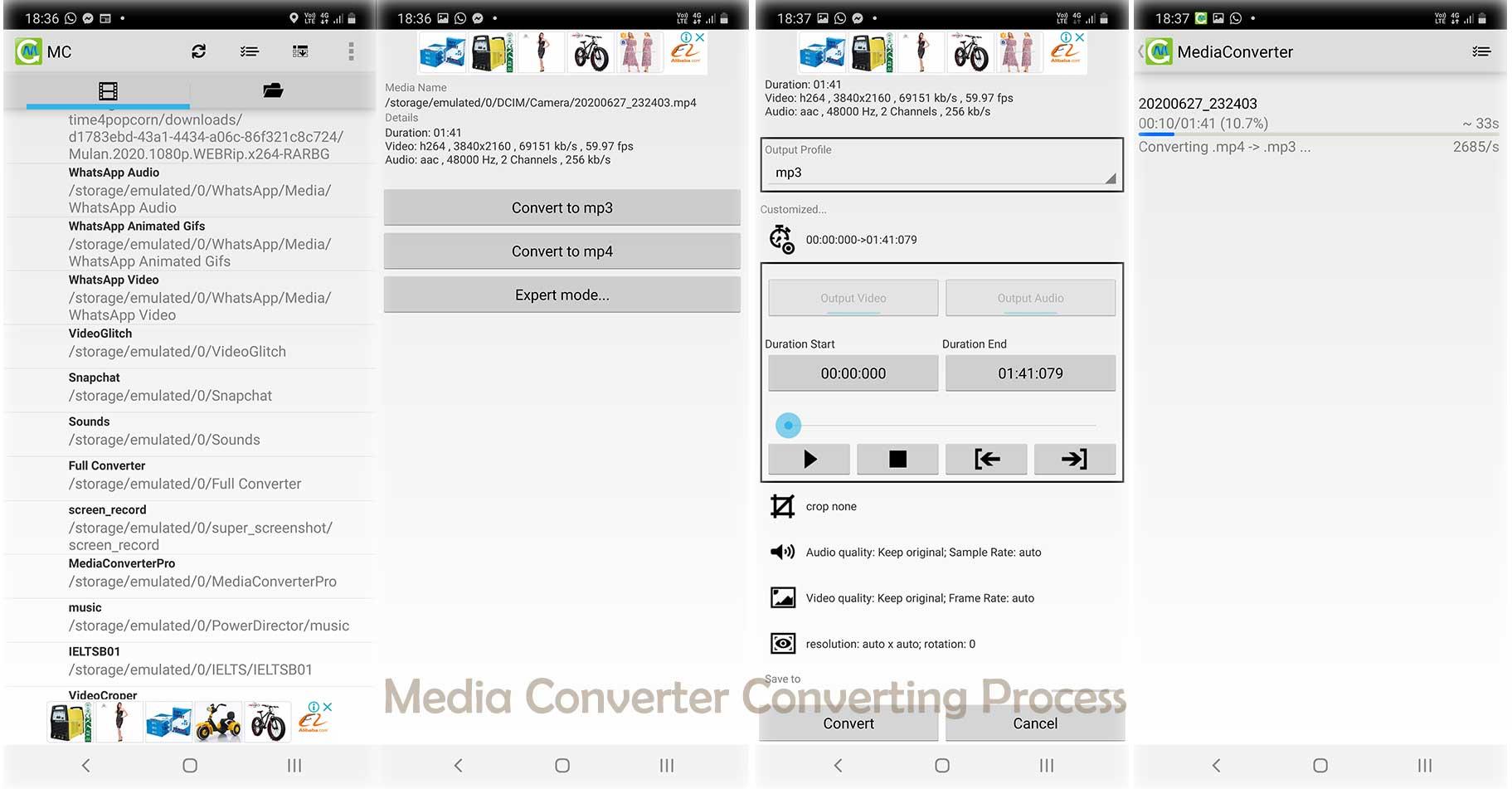 Media Converter Android
