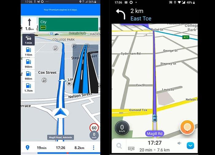 Sygic vs Waze - Navigation