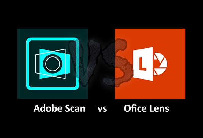 Adobe Scan and Office Lens Icon