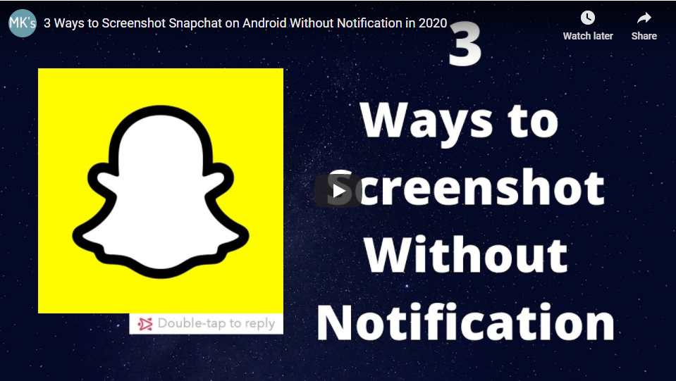 4 Ways to Screenshot on Snapchat Without Them Knowing (2020)