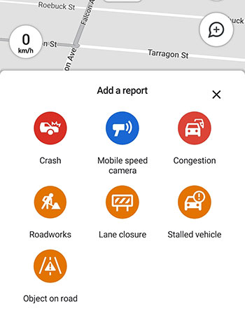 Reporting - Google Maps