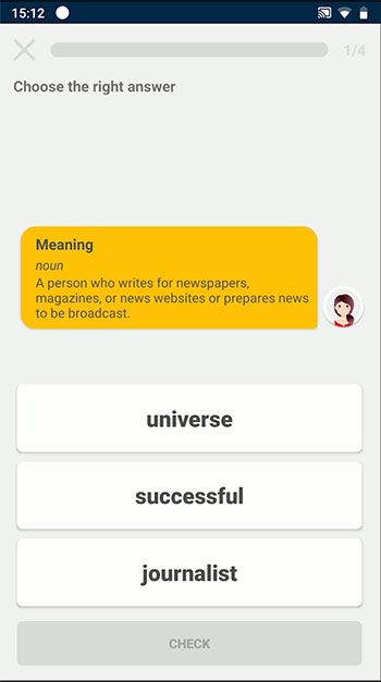 Learn English 3000 App Interface