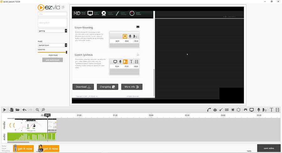Ezvid Screen Capturer