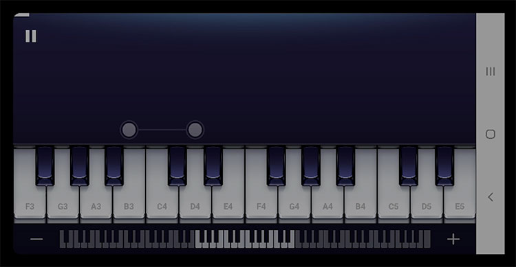 Piano - Play and Learn free Songs Screenshot