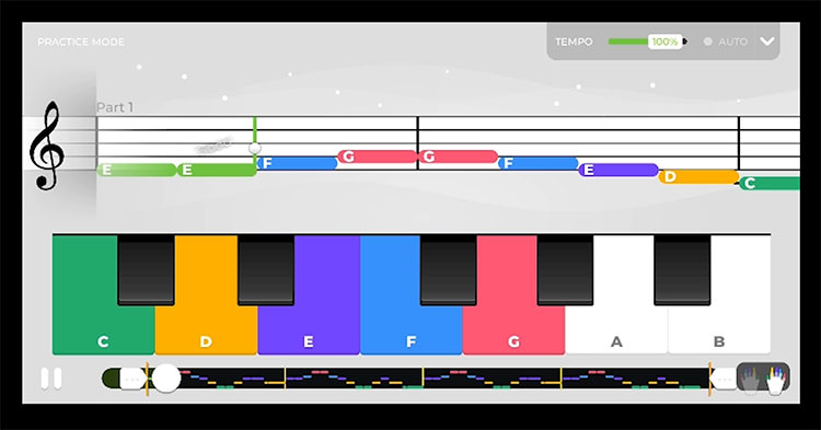 Piano App Screenshot