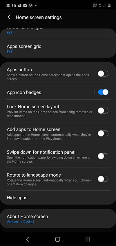 Samsung Galaxy - Hide Apps Feature