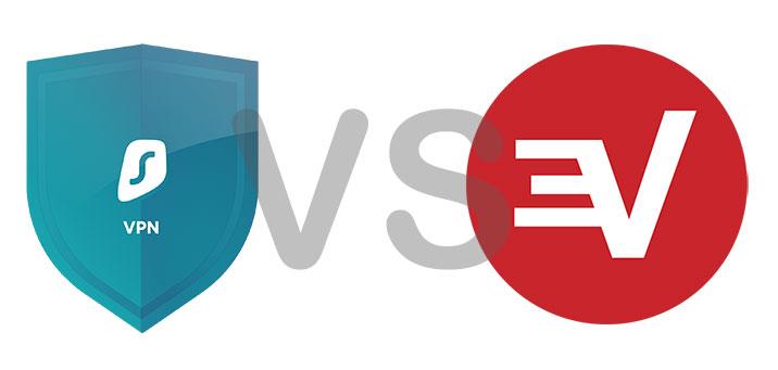 Surfshark vs ExpressVPN