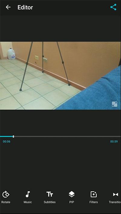Video Editor App Interface