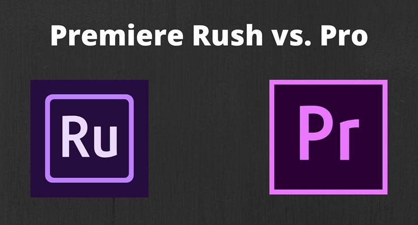 Premiere Rush Vs. Pro