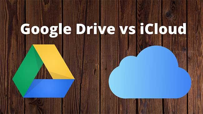 Google Drive vs iCloud