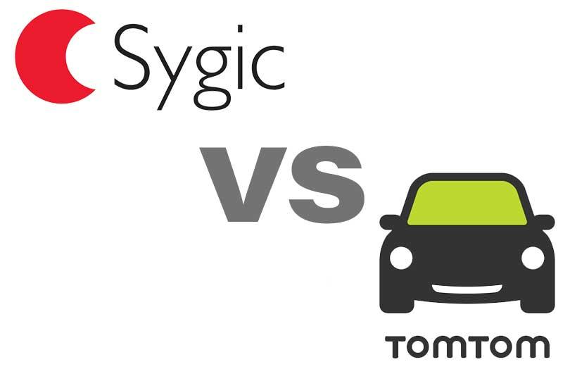 Sygic vs. TomTom Go
