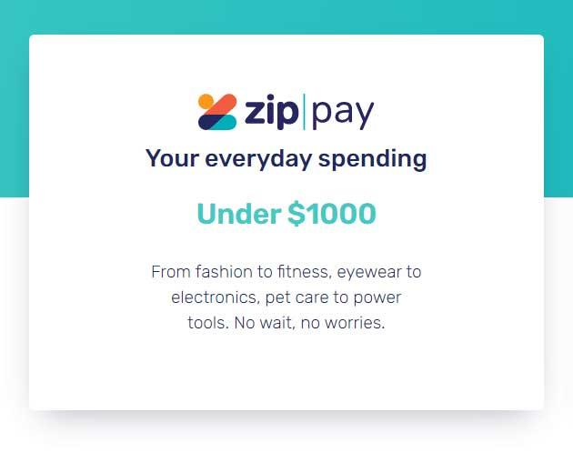 Zip Pay Maximum Limit
