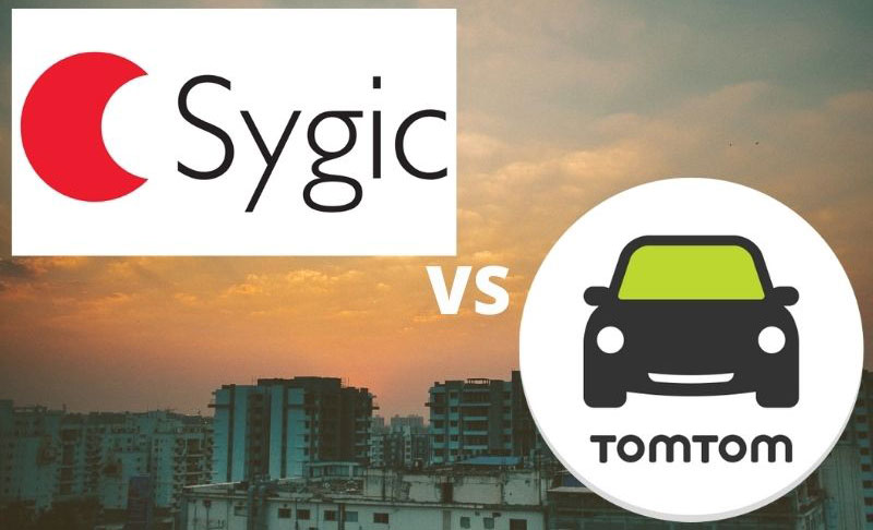 Sygic vs TomTom Go