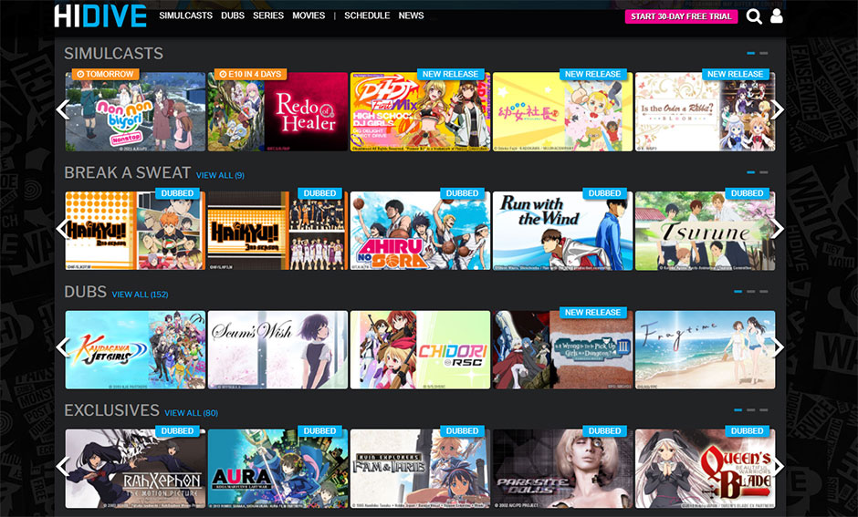 Anime Library on HIDIVE