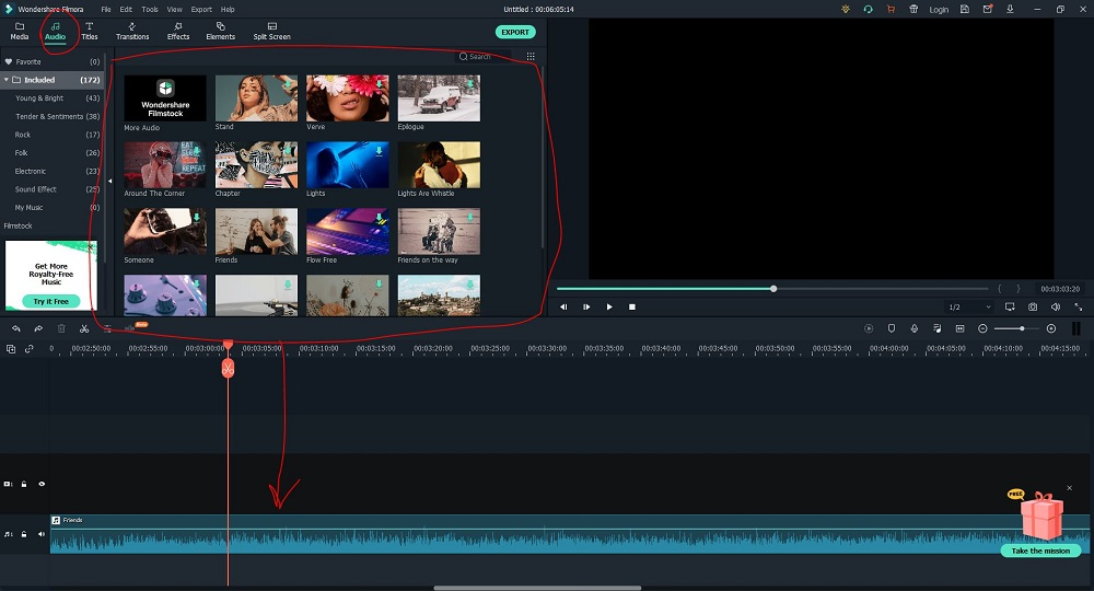 Filmora Audio Effects