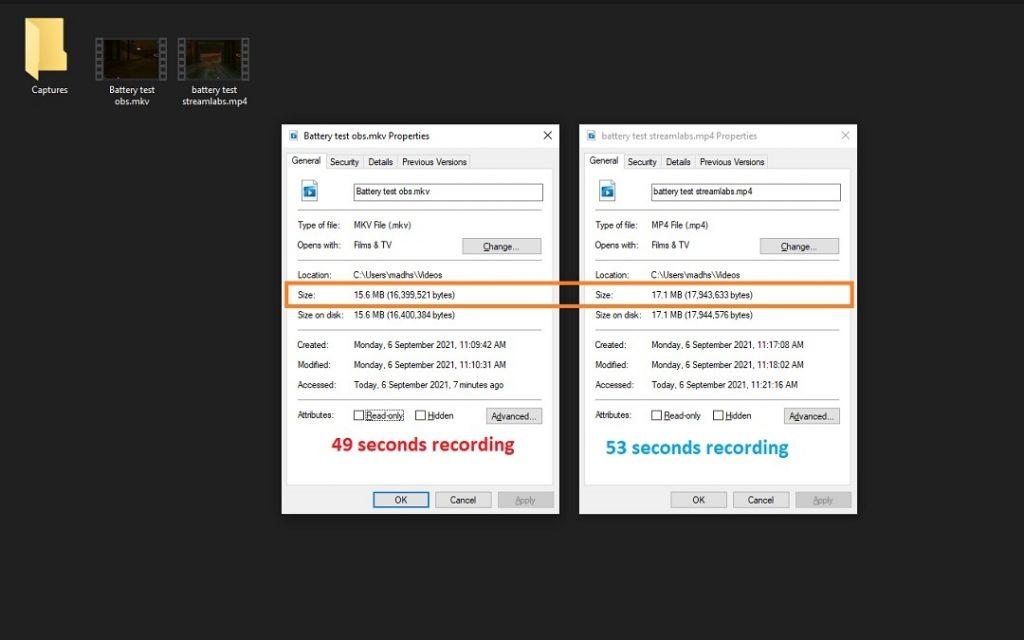Streamlabs vs StreamElements Recording Test
